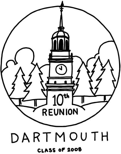 Class of 2008 Reunion logo