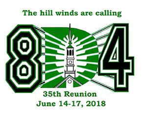 Reunion logo for 1984