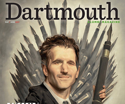 Dartmouth Alumni Magazine cover
