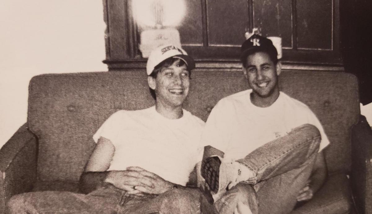 Stone and Goldstein during the Dartmouth days
