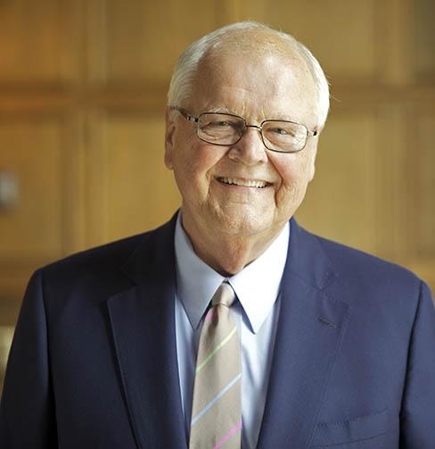 James Wright, president emeritus