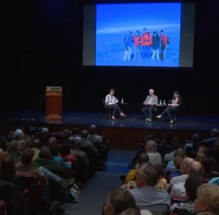 panelists discussing polar regions