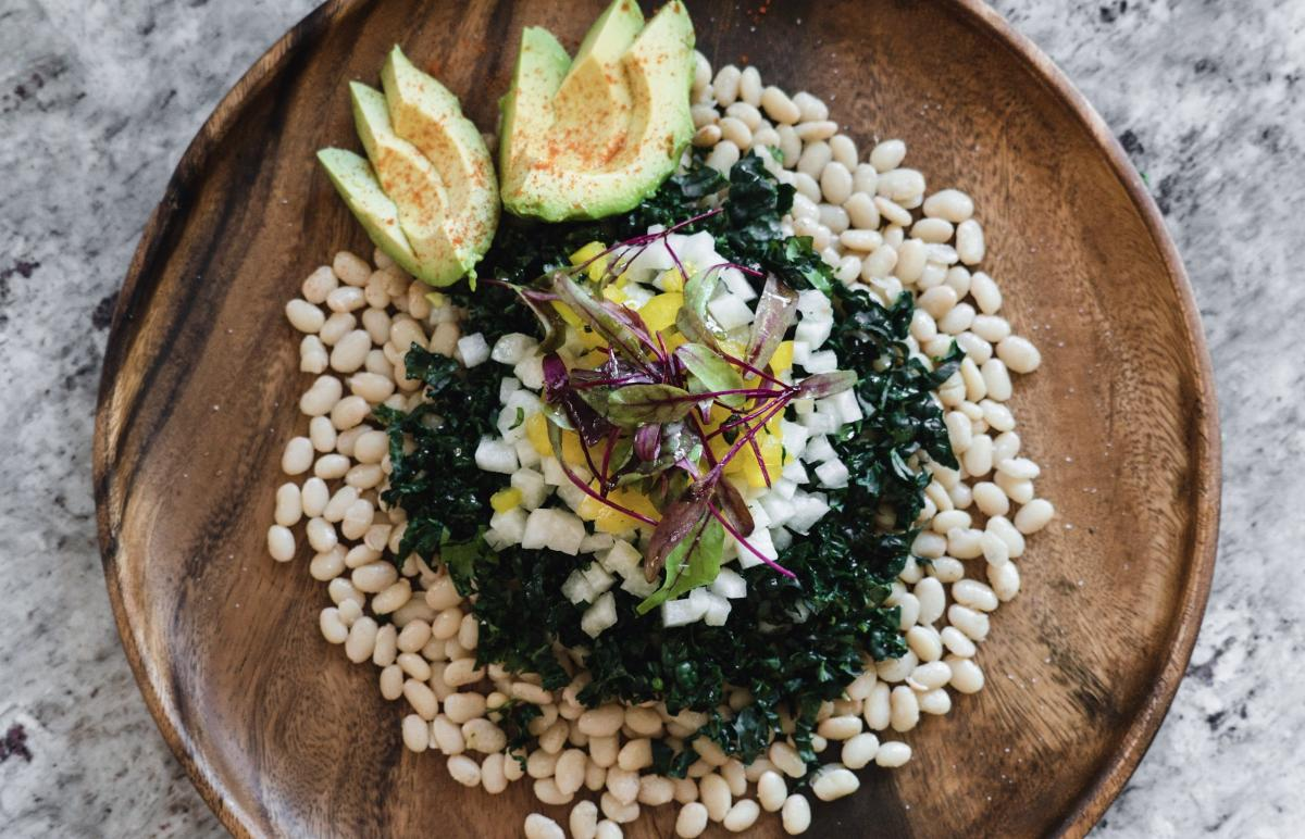 A salad featured on Well for Culture is made with tepary beans, which are native to the southwestern US.