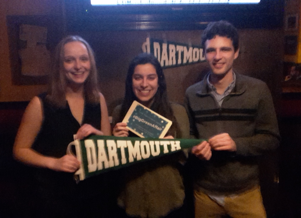 Young alumni gathered in Boston for the Big Green Affair