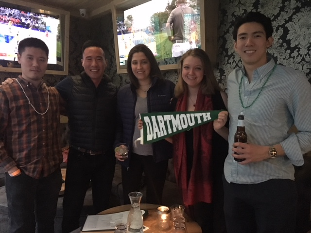 Young New York alumni celebrated at the Ainsworth