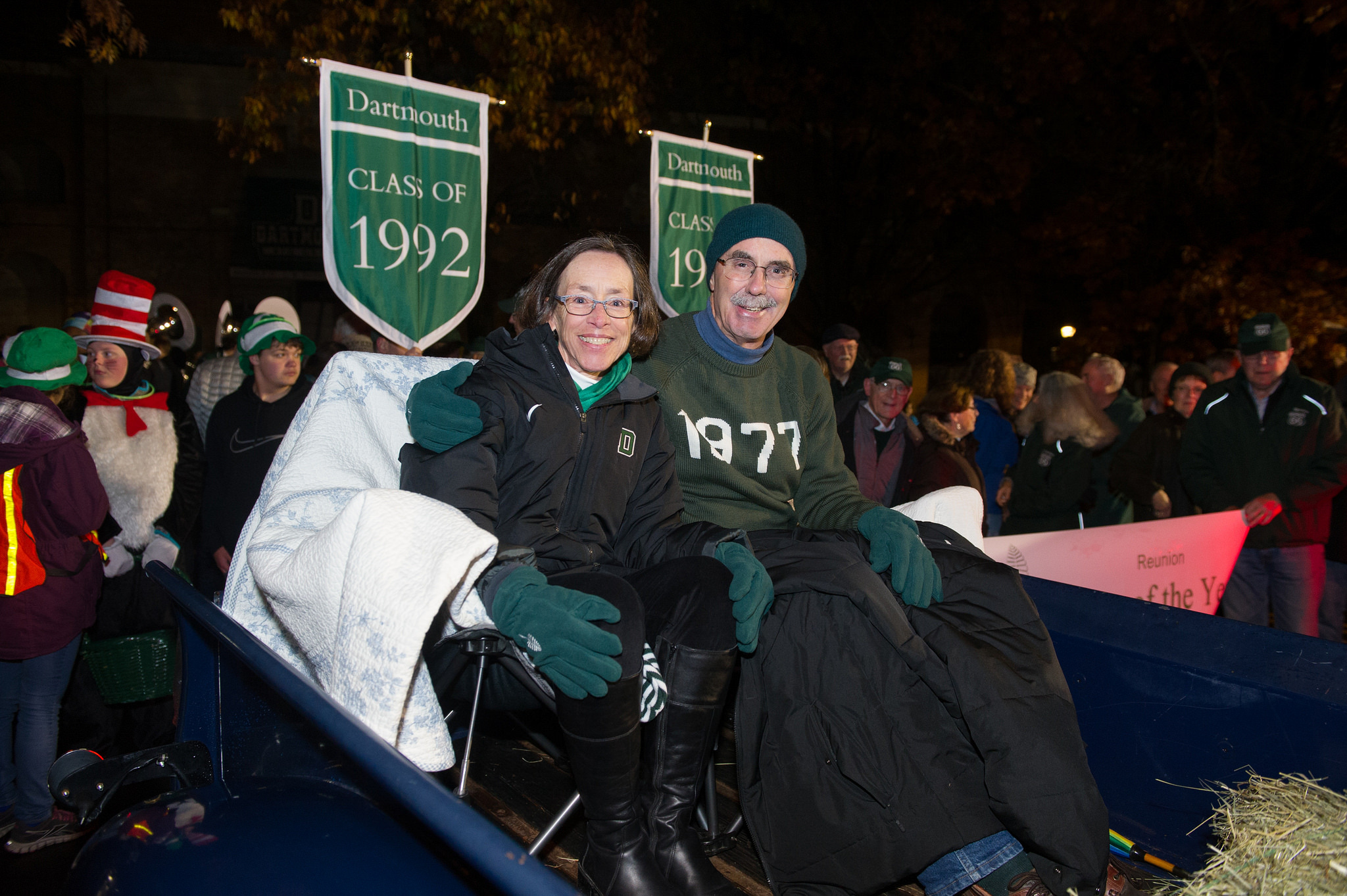 Gail and Phil Hanlon in Parade