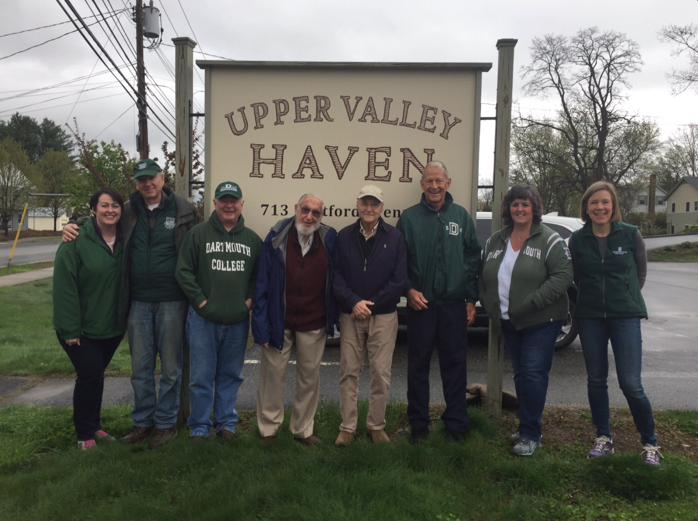grounds cleanup for the Upper Valley Haven