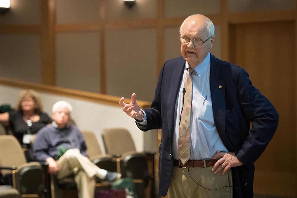 President Emeritus James Wright