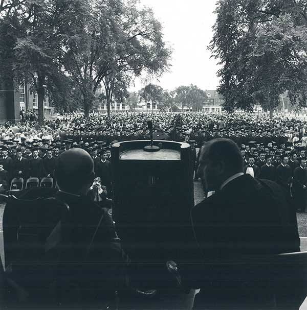 1964 Dartmouth Commencement