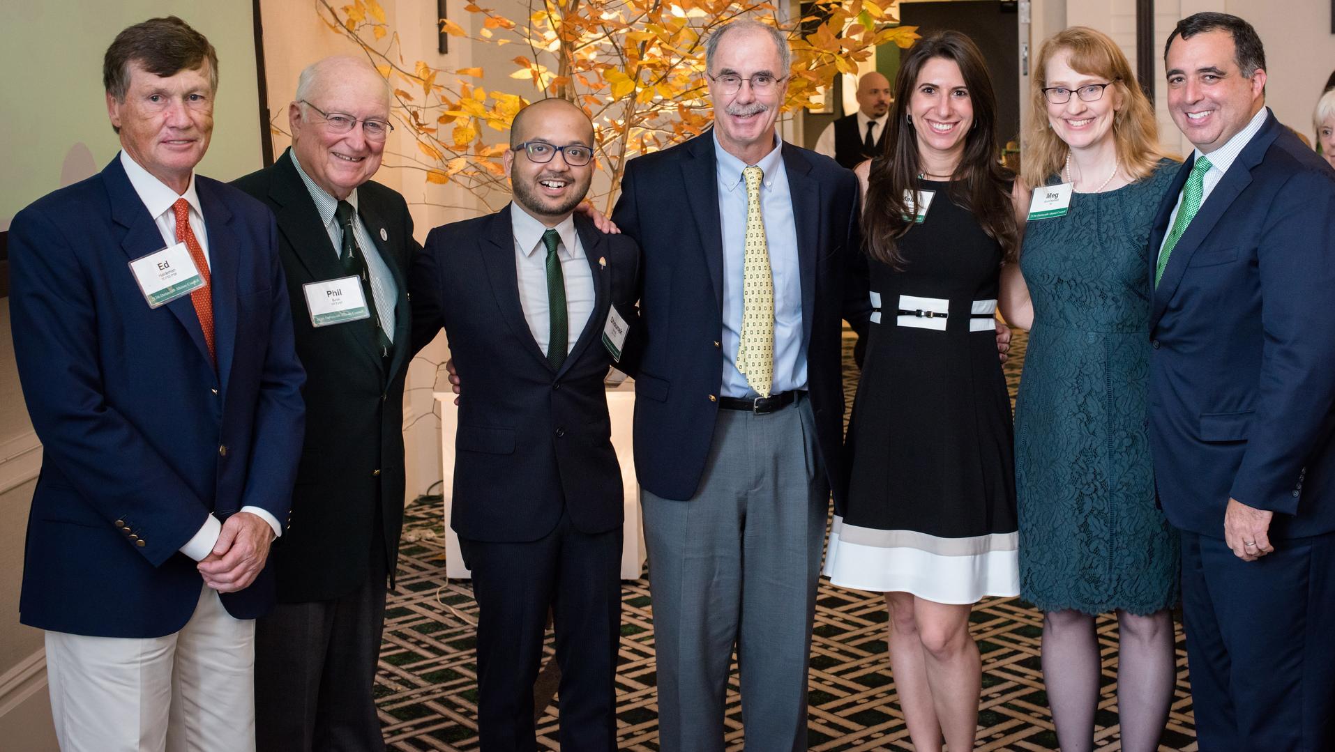 Dartmouth Alumni Award winners.