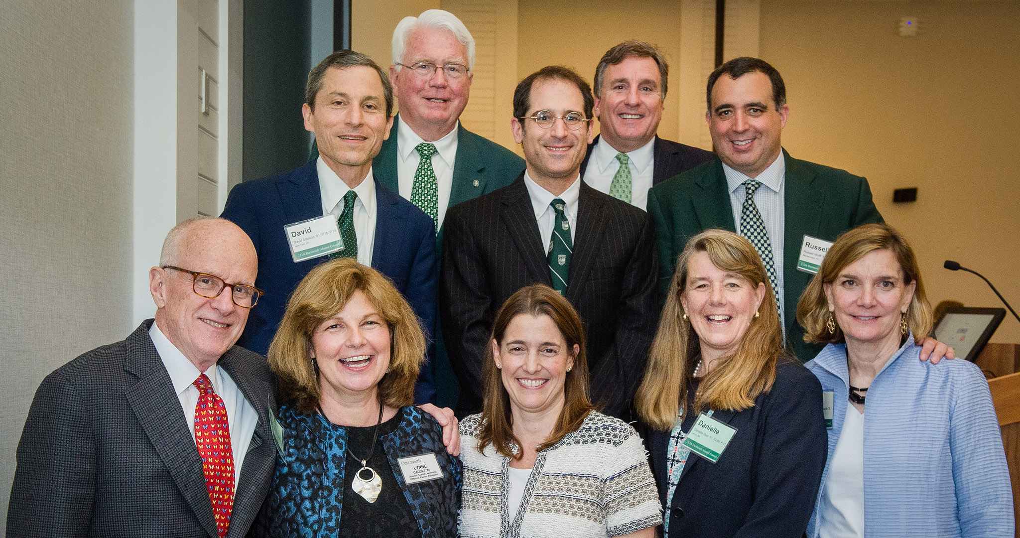 Members of the Dartmouth Alumni Council