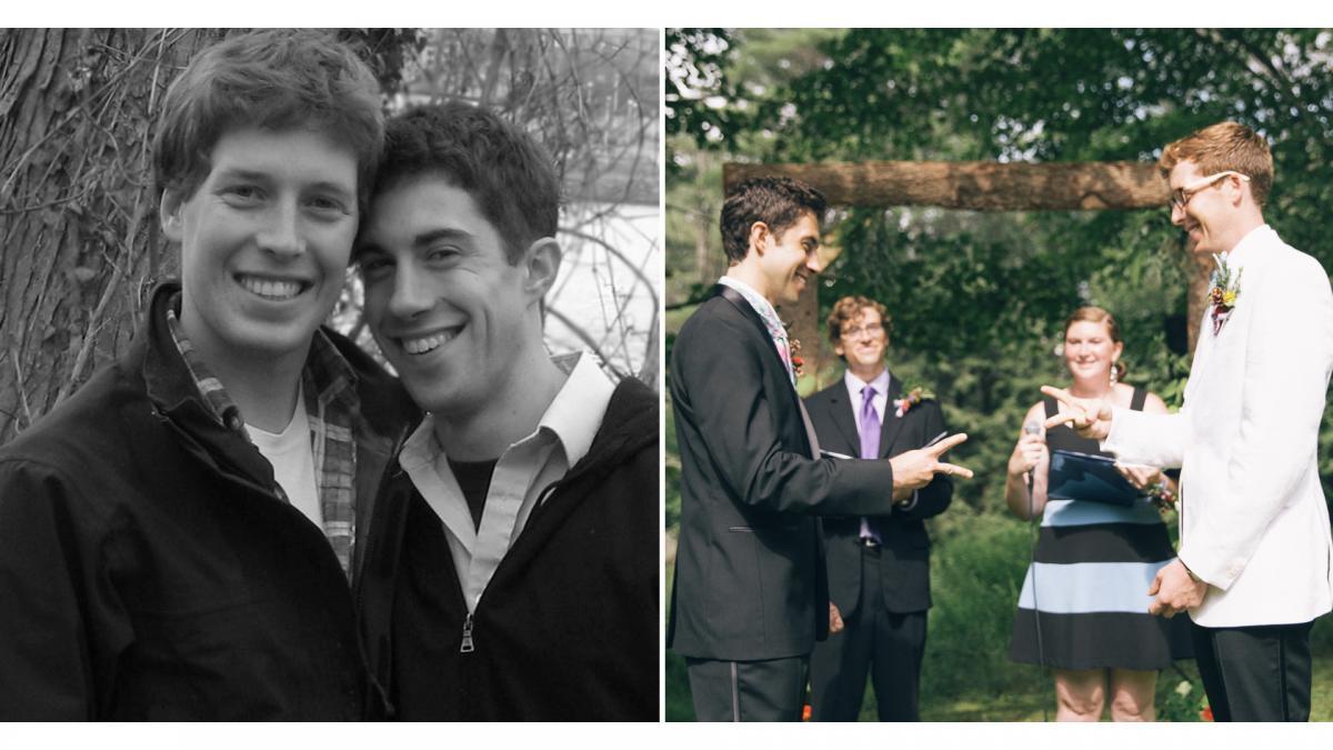 Will DeKrey '08 and Sean Garren '07