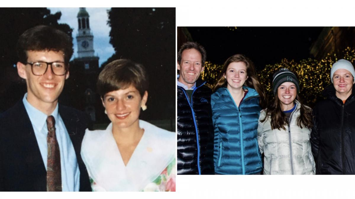 Chrissie Stearns Drescher '87 and Mike Drescher '87