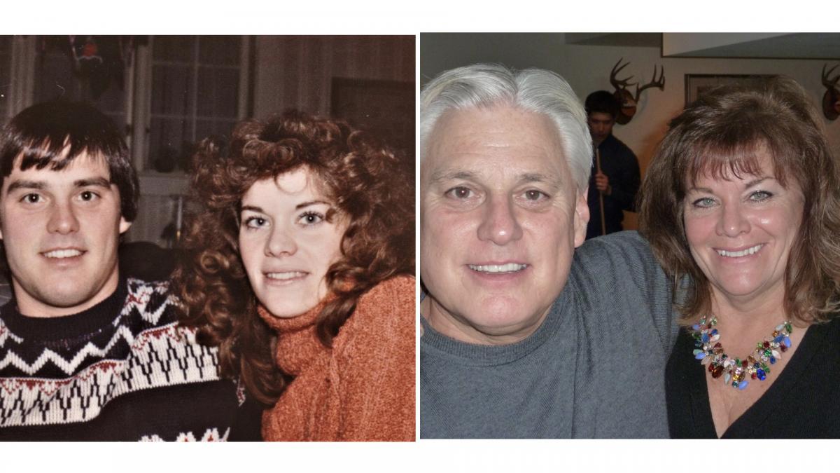 Bob Freidl '76 and Nancy Steward Friedl '76