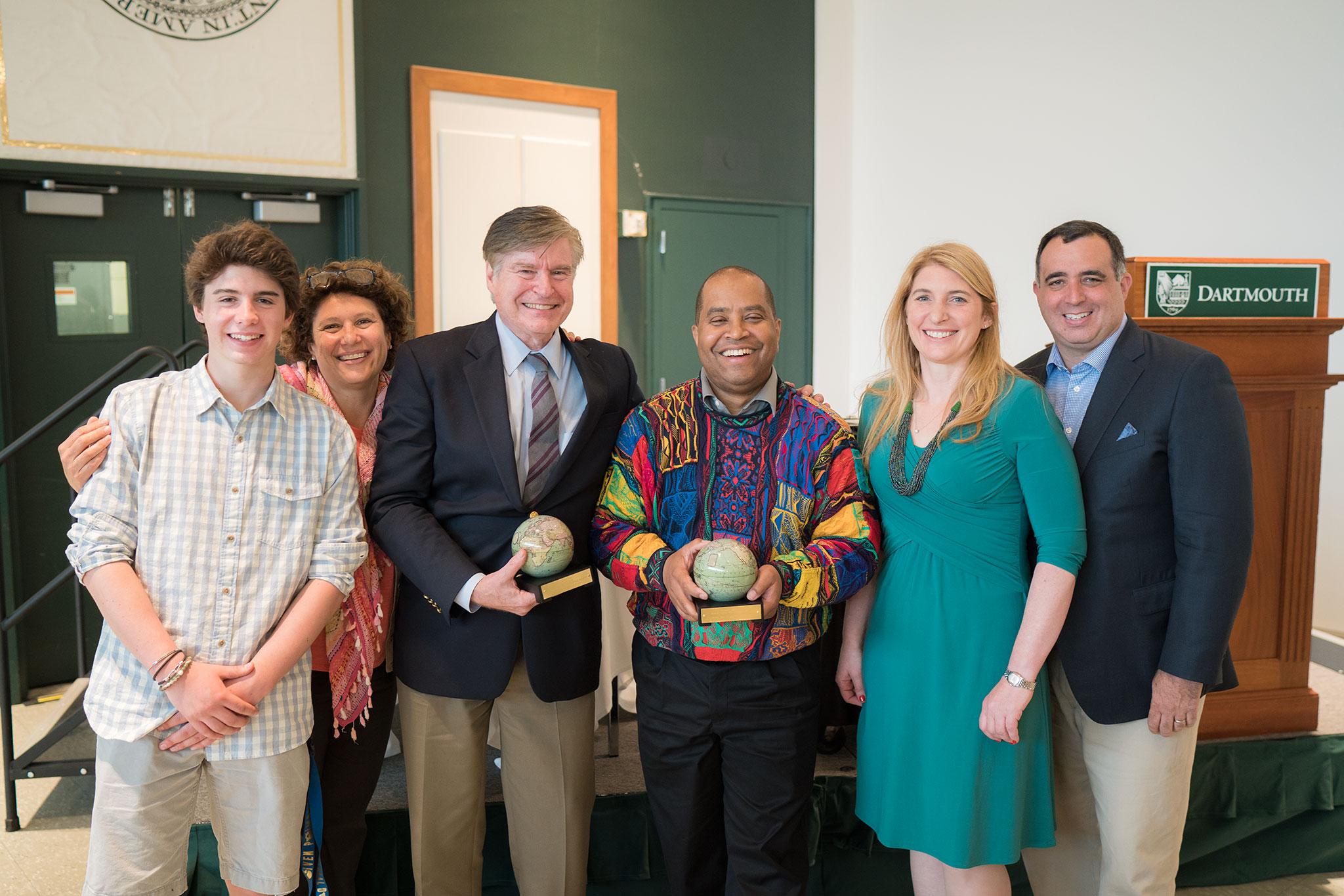 John Rassias Award faculty commitment