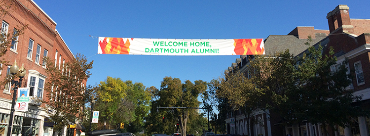 Main Street Homecoming Banner