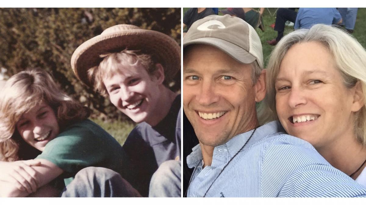 Alice Rudd '86 and Brooks Elder '86