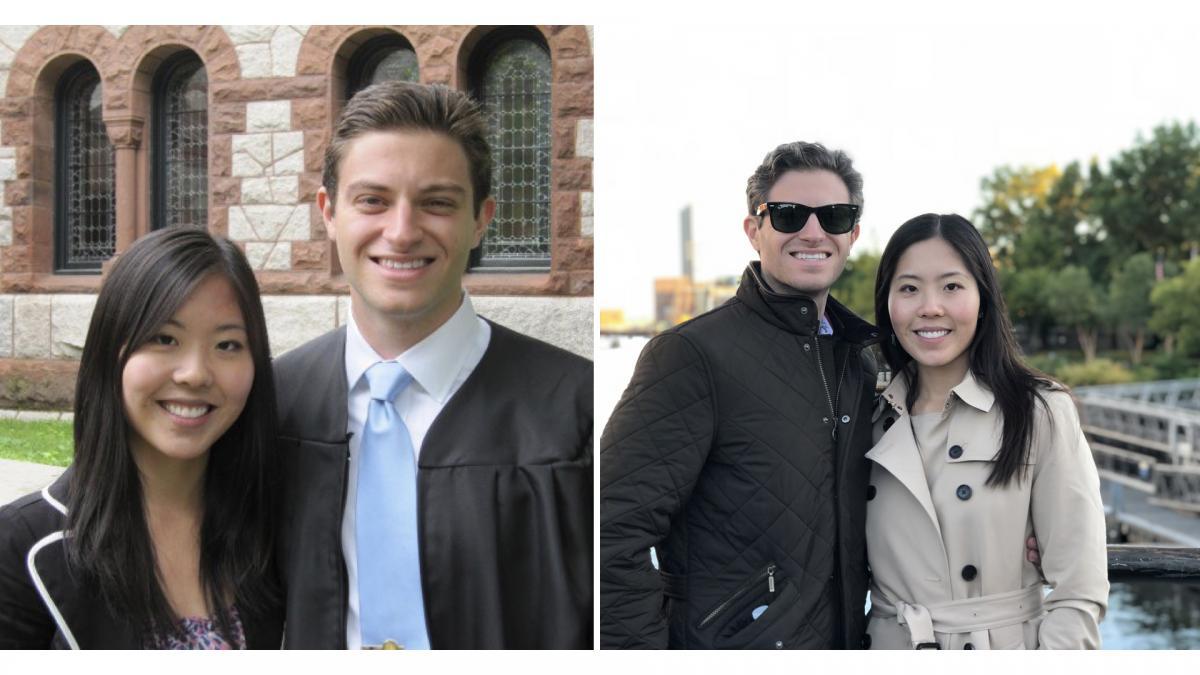 Nathan Bruschi '10 and Roanna Wang '13