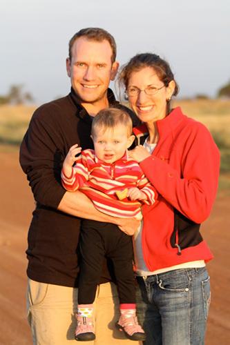 Dustin Rubenstein '99 and family