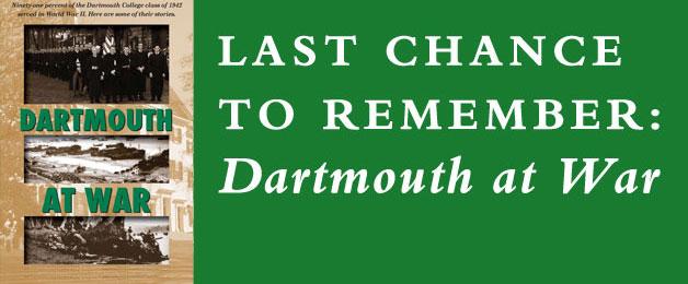 Dartmouth at War