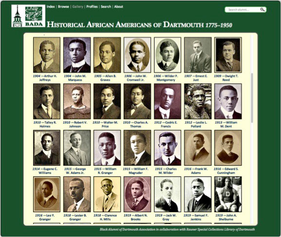 African Americans at Dartmouth
