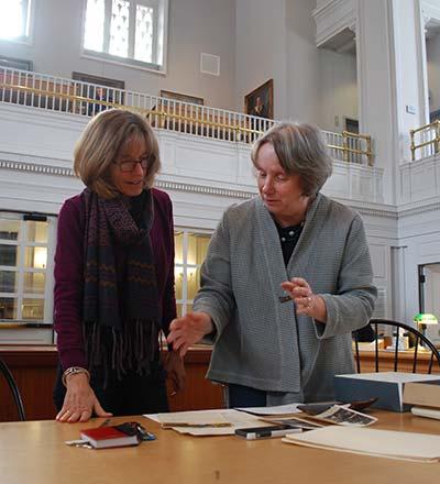 Alice Hall Claflin and Barbara Krieger