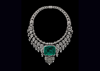 Necklace worn by Countess of Granard. Cartier London, special order, 1932.