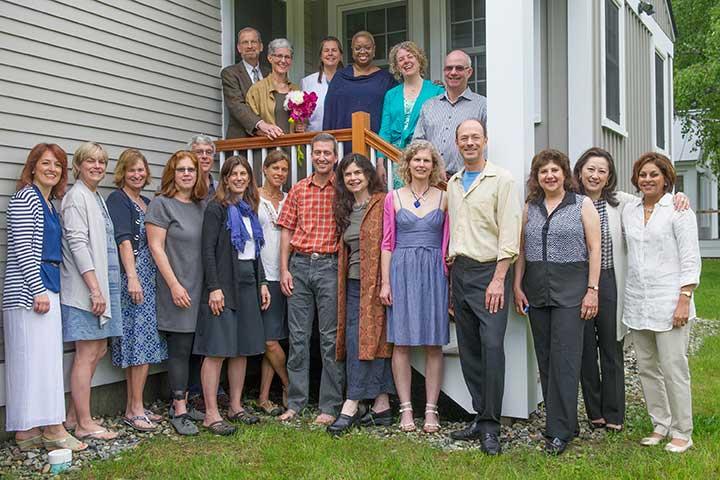 wedding attendees, Dartmouth Alumni