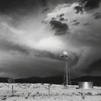 Storm near Santa Fe, New Mexico by Liliane De Cock