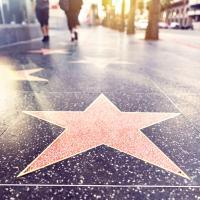 Sidewalk stars