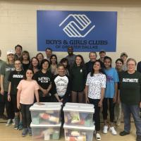 Alumni at the Boys and Girls Club of Greater Dallas