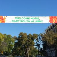 Main Street Homecoming Banner