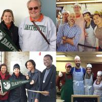 Collage of Service Projects in 2014